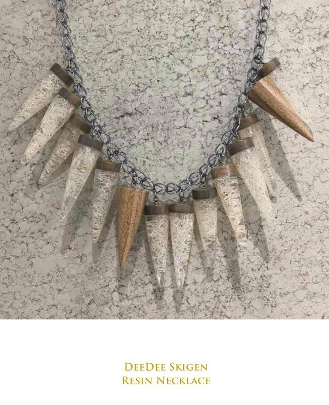 Dee Dee Skigen's Resin Necklace