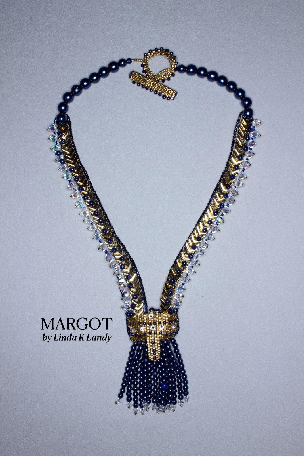 Linda Landy's Margo necklace